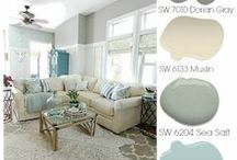 Colors of the Home / Cutting edge colors and up-to-date style from FLOOR to ceiling!
