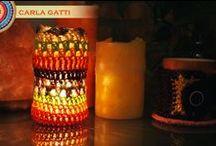 Tejidos para la casa de Carla Gatti / Estos son tejidos realizados para disfrutar cada rincón de la casa.