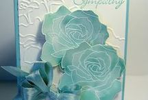 stampin up - Fifth Avenue Floraln & Manhattan Flower Embossing Folder