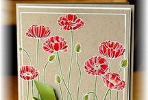 stampin up - Pleasant Poppies