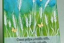 Hero Arts Stamp-Silhouette Grass