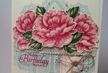 Stampin' Up!  stippled Blossoms