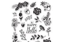clear  stamp &  Cling Rubber Stamp