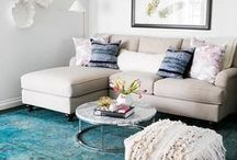 Small Spaces: Design and Decorating / Designing and decorating your small space can be hard! Here are some tips and tricks to make it easy!