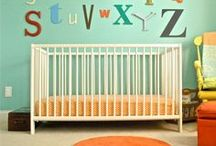 Colorful Kids Rooms and Play Rooms / From bedrooms to playroom... design starts here!