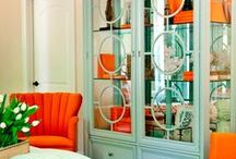 Color Inspiration: Summer Hues Mint / Summer loving...these tastefully simple designs using mint and orange tones!