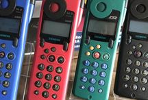 Retro Mobile Phones / Piece of my collect.