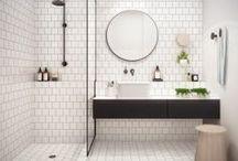 Interiors : bathrooms