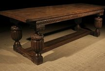 Oak Dining Tables, Reproduction / Early Oak Reproductions replica 16th, 17th and 18th century tables, including country style tables.  - See more at: http://www.earlyoakreproductions.co.uk/furniture/dining-tables/