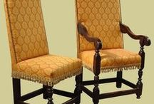 Oak Seating, Reproduction / 15th to 19th century style seating, including upholstered and carved dining side chairs and armchairs (carvers), settles and benches.  - See more at: http://www.earlyoakreproductions.co.uk/furniture/seating/