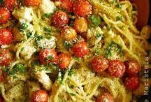 Food - Dinner: pasta