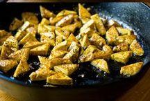 Food - Dinner: tofu
