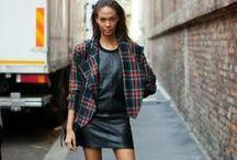 Plaid Lookbook / Fashion inspiration - Plaid
