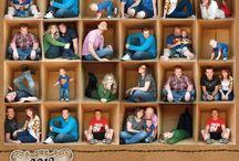 Cousinades et Réunions de famille / Idées pour l'organisation, la préparation, l'animation d'une cousinade.  De la déco, des jeux pour les enfants, des astuces pour présenter et partager photos et arbres généalogiques... Family reunion