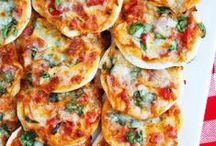 Mini Pizza Recipes / Mini Pizza Recipes
