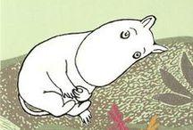 Tove Jansson * Moomins * Муми-тролли