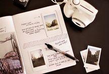 scrapbooks <3 / ideias de 'livros de fotografias'