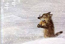Animals in art / #animals #illustration #art #folkart