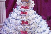 Barbie's crochet clothes