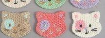 Crochet Coasters / Coasters, potholders, ...