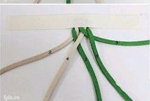 Nudos y varios de cuero / Nudos para pulseras, pendientes , collares, etc.