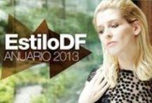 Anuario ESTILODF / EstiloDF / Anuario de moda / by The Beauty Effect by Eugenia Debayle