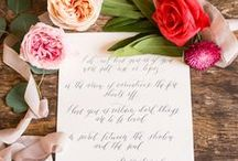 Wedding Stationary / wedding invitations, menus, save the dates, all beautiful wedding stationery for your wedding day