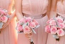 Pink Weddings / Wedding inspiration