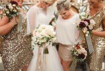 Gold Weddings / Wedding inspiration