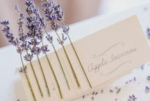 Lavender weddings / Beautiful ideas for a lavender themed wedding