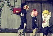 Naruto and fav char art