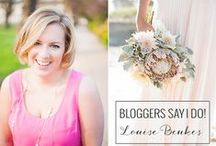 Wedding bloggers Say I do ! / A new series on Love4Wed! Talented wedding bloggers share their thoughts on how they would imagine or reimagine their wedding!