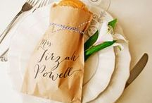 How to seat your wedding guests / Ideas and inspiration on how to seat your wedding guests