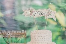 Wedding Cake Toppers / The most creative cake toppers for your wedding cake