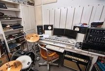 Music Studios / Music studios and recording facilities designed for the creation and production of music around the world.