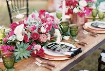 Wedding Table Settings / Gorgeous table settings for stylish weddings