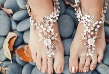 Foot Jewerly / Perfect foot jewerly for a wedding on the beach!