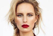 Faces. / makeup inspiration