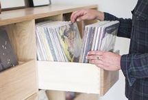 Vinyl Record Furniture / Record collection and storage and vinyl storage with furniture and shelving solutions for collectors.