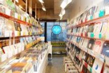Record Stores / Record stores that sell vinyl records, CDs, and other music albums. Both new and secondhand, primarily independent shops featured.