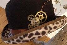My works (Steampunk) / Steampunk hat I made