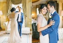 First look photos / The most beautiful first look wedding photos. The first time the grooms sees his beautiful bride, gorgeous wedding photos every bride should have