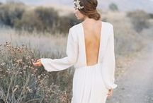 Backless Wedding Dresses / Beautiful backless wedding dresses from amazing designers