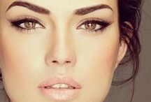 Makeup for eyes / Smokey eyes , make up styles  for eyes. eye shadow colors for your wedding day