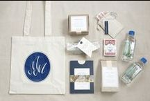 Welcome bag ideas / creative ideas for welcome bags at your wedding