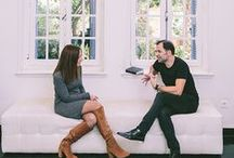 Interviews with amazing people / Interviews with amazing and talented people that are in the wedding industry
