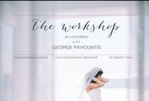 Photography workshop in Greece / We are beyond excited to announce THE WORKSHOP, our collaboration with uber talented photographer George Pahountis for the first Love4Wed workshop on the breathtaking Athenian Riviera. An amazing opportunity for learning, hands-on shooting, networking & marketing tips to enhance your business…