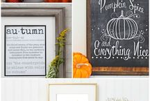 Autumn/Fall Decor Ideas