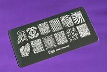 Delushous Stamping Plates / Original stamping plate designs.