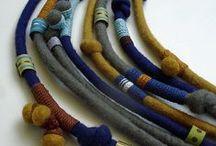 collares / collares de ceramica